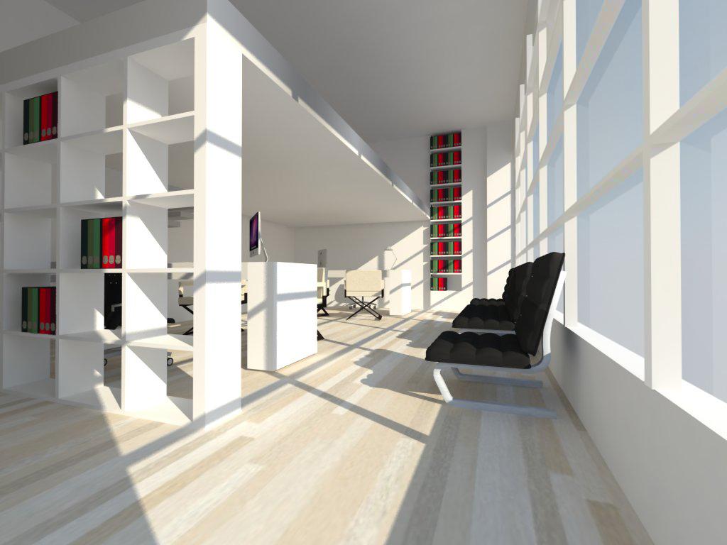 Ufficio industrial style | cafelab studio di architettura