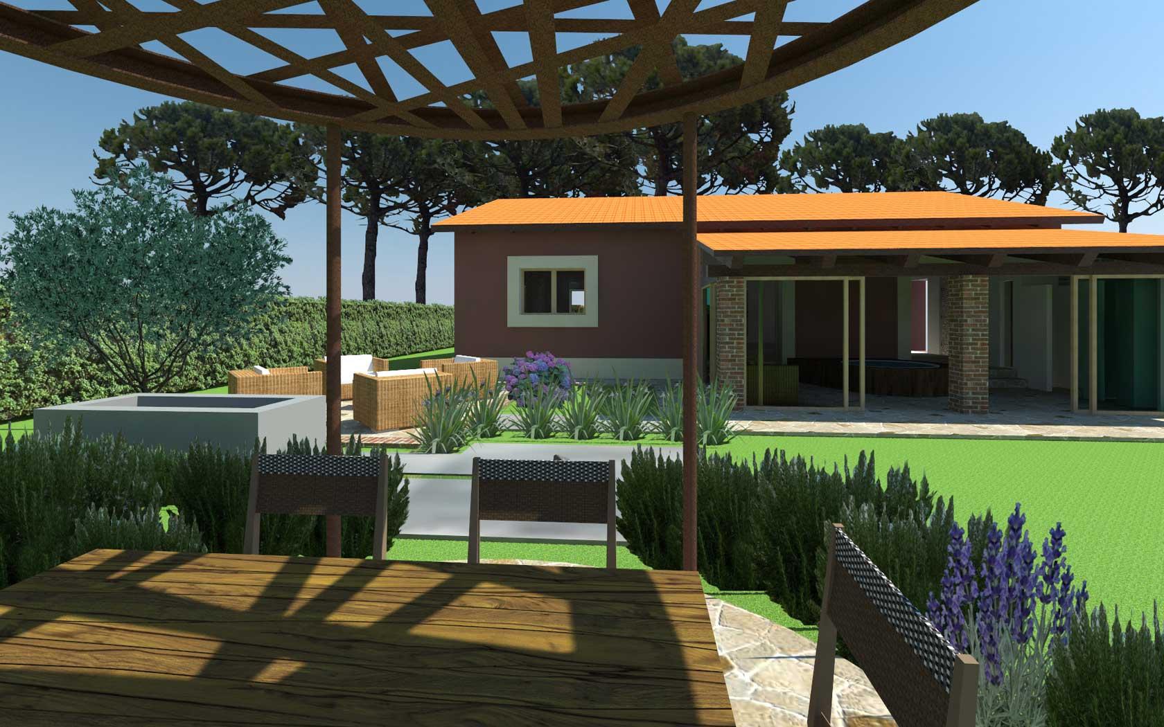 Giardino cafelab studio di architettura for Progetto giardino mediterraneo